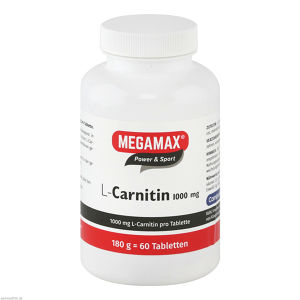 L-Carnitin 1000mg Megamax